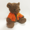 Cute Teddy Bear Toys with Orange Flowers Sweater Kids Toys