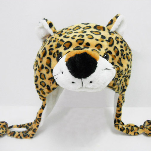 Wholesale Custom Children's Creative Gifts Popular Kids Cotton Leopard Hat