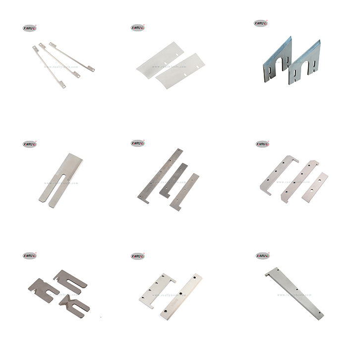 All Kinds of Different Shapes Blade Can Be Customized