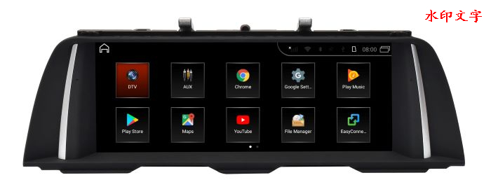Hualingan For BMW 5 series,NBT system,10.25 inch Android car multimedia system MTK Core 4G internet 64G storage WIFI Carplay