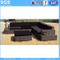 New Design Rattan Corner Sofa for Outdoor with Coffee Table