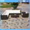 Rattan Patio Furniture Corner Set Outdoor Sofa