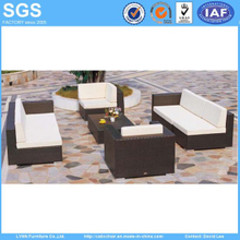 Patio Furniture PE Rattan Combination Sofa Set