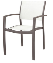 Modern Textilene Chair for Outdoor Using (LN-1065)