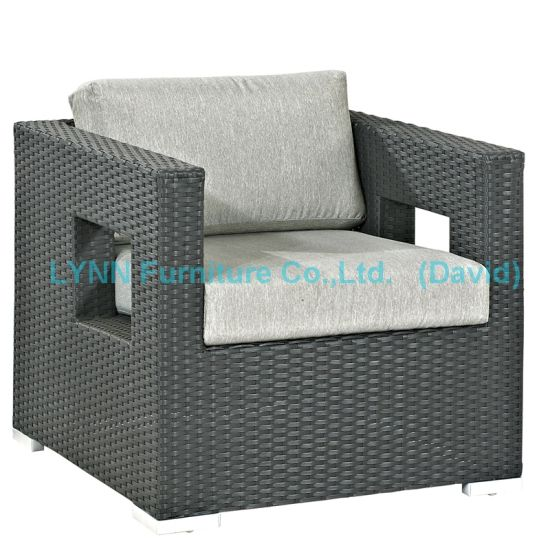 Patio Chair Balcony Chair PE Rattan Armchair Sofa