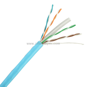 Factory Price 4pairs 23AWG UTP CAT6 NETWORK CABLE with CE ROHS UL Standard