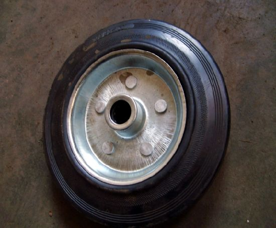 Solid Rubber Wheel 200*50-100 (200*50)