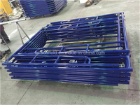 Scaffold Powder Coated Walk Through Frame Scaffolding with Blue