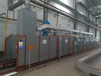CNG Gas Anneal Furnace Heat Treatment