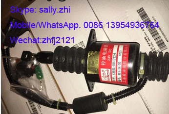 Oil Cut-off Solenoid Valve 59al213 for Shangchai Engine