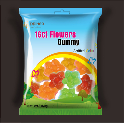 Spring&Summer Flower Gummy Candy