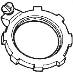 Grounding Rigid Locknut Steel