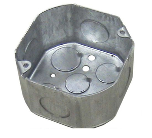 "4"" Octagonal Conduit Box for Conduit and Wire"