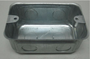 Flush Wall Box Metal Box 4X2