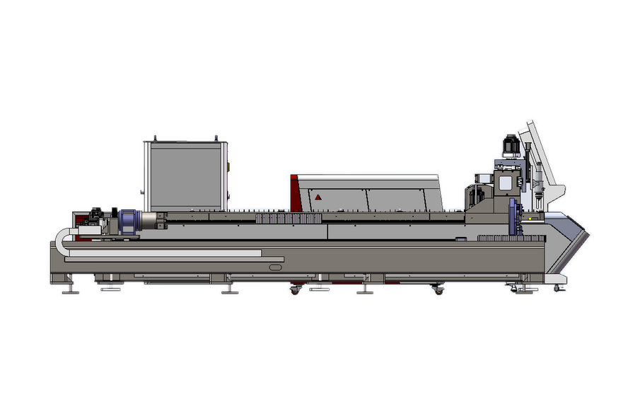 4020 laser tube cutting machine