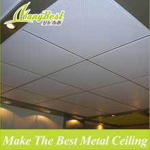 585*585 Aluminum lay in Fireproof Ceiling Material for Basement