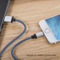 Spot USB2.0 Braided Lightning Charging Data Cable for iPhone