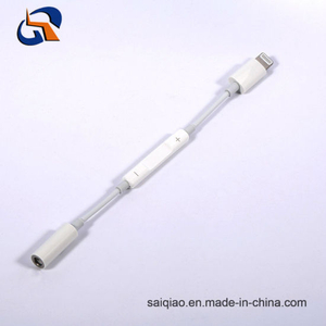 Lightning to 3.5mm Headphone Adapter with Wire Control