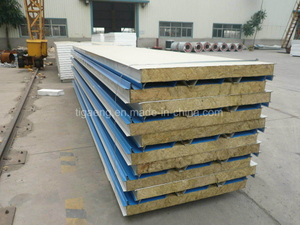 Steel Mineral Wool Panel for Roofing/Wall Panel