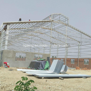 Galvanized Frame Poultry Farm Business Plan in Maharashtra Sheep Shed