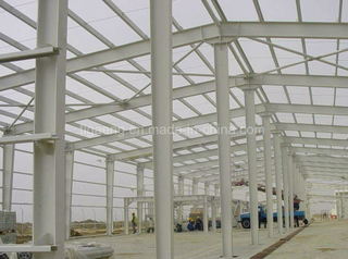 Low Cost Heavy Duty Steel Structure Supermarket/Large Temporary Office/Exhibition Center