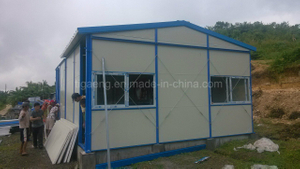 Prefabricated Light Steel Structure Color Coated Steel Panel Mobil House