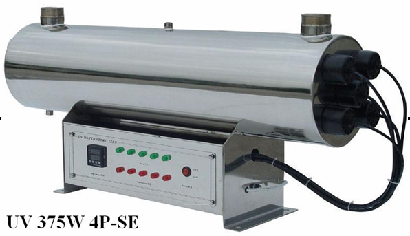 New Designed 25T/H Stainless Steel UV Sterilizer for Water 375W