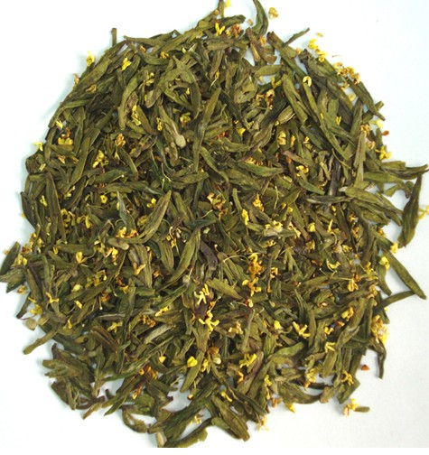 Osmanthus Lungching (flavored tea)