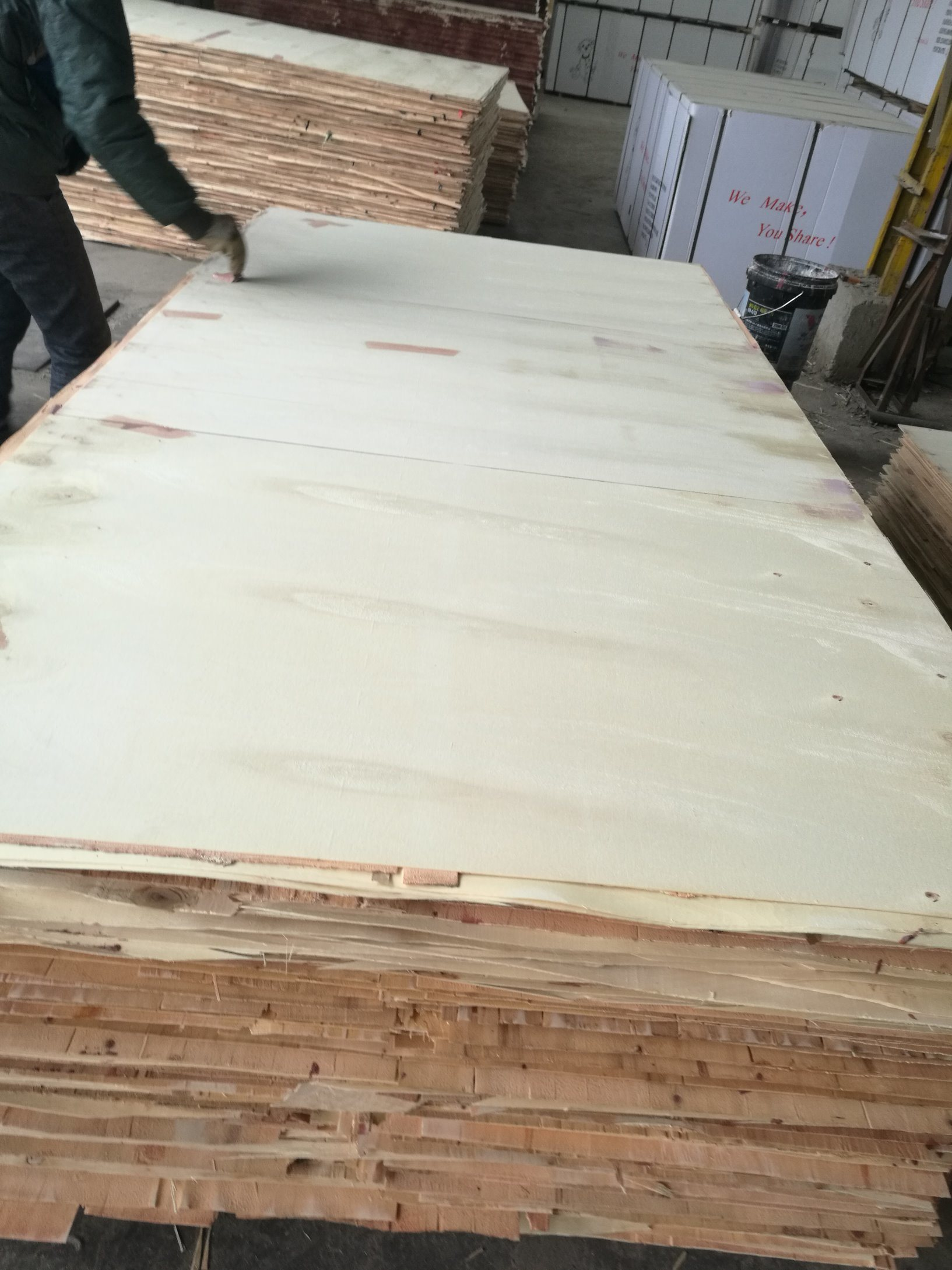 Waterproof Film Faced Plywood Poplar Core WBP Glue