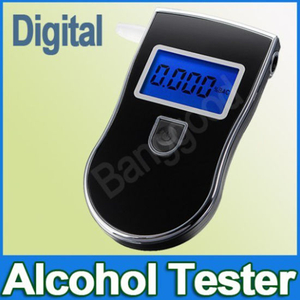 Portable Breath Alcohol Tester Breathalyzer Analyzer with Digital LCD Display