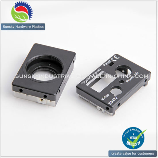 CNC Milling Parts for Industrial Camera Housing (AL12055)