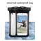 Protective Sealed Underwater Mobile Cover for iPhone Smart Phone Universal