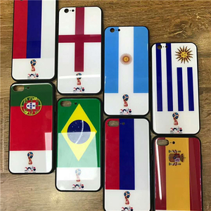 Russian World Cup Back Case Glass Shockproof Case