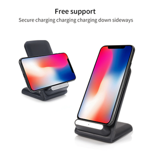 Wireless Charger for IPhone And Android,Wireless Fast Charger, Phone Wireless Charger with LED Flashing Light