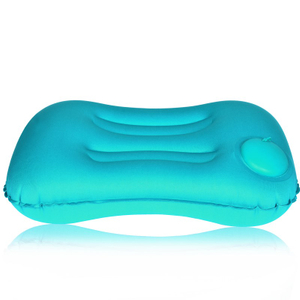 Outdoor Inflatable Pillow for Travelling Square Airplane Pillow Camping Inflatable Pillow