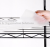 acceesory of wire shelving-clear shelf PP liner