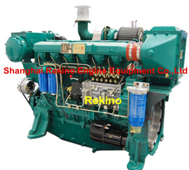 Weichai WP13 310-350KW industrial stationary diesel engine for water pump