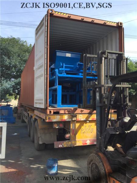 Nigeria ZCJK 4-20A Block Machine (3)