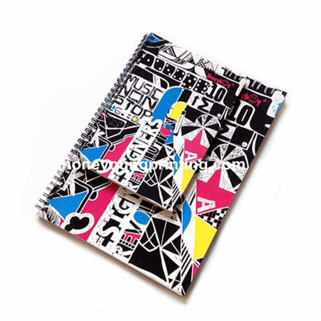 spiral note books (4)