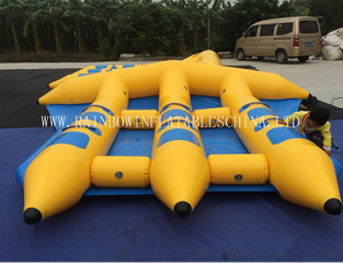 RB32024(4x3.6m)Inflatable Sealed Boat /Inflatable water Boat for adult