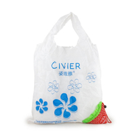 b317bb7674 Cute Foldable Storage Strawberry Eco Reusable Shopping Recycle Grogery Bag