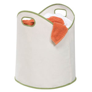 Large Load Canvas Laundry Basket