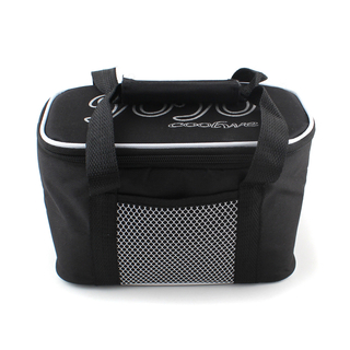 Black Portable waterproof Lunch Bag with Insulated Cooler