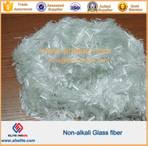 Non-alkali Glass fiber chopped strands