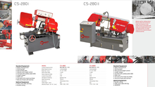 CS SERIES PIVOT SEMI AUTOMATIC BAN SAW CS280I-CS-280II