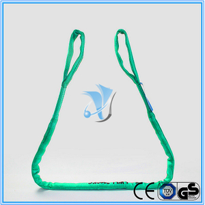 WLL 2T Eye and Eye Polyester Round Sling