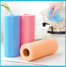 home use nonwoven fabric cleaning cloth in roll