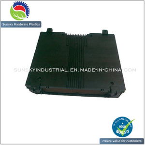 Black Coating Aluminium Casting for Telecom Equipment Cover Case (DC26014)
