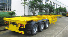 40FT 3 Axles Skeletal Semi Trailer
