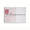 A5 size 8mm single line with red margin assorted designs exercise book staple binding with laminated cover